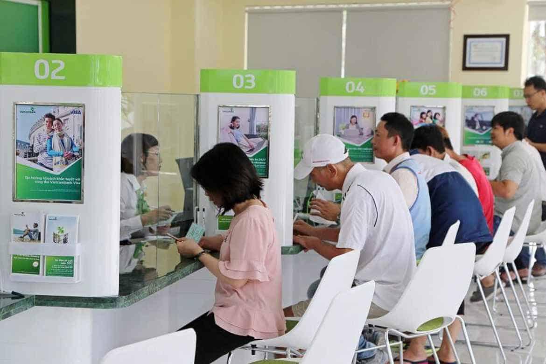 Cập nhật giờ làm việc các chi nhánh Vietcombank