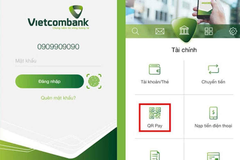 Số tài khoản ngân hàng Vietcombank ghi ở đâu?