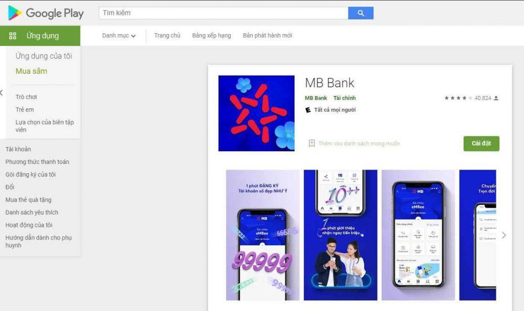 App MBBank