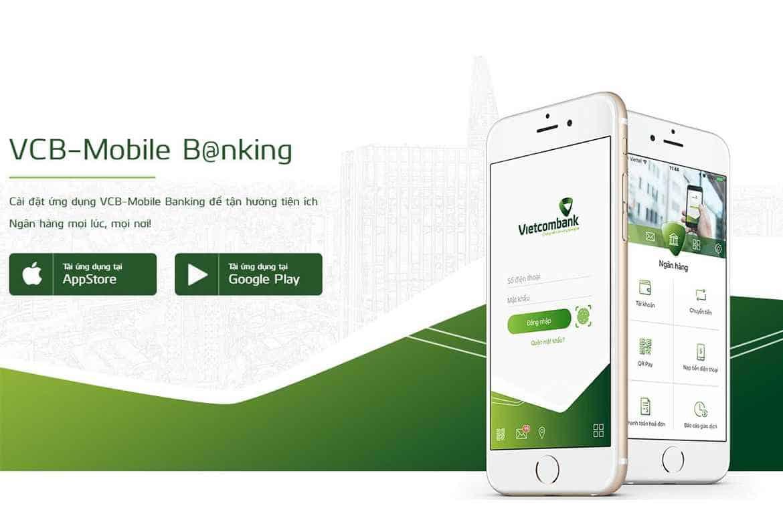 Các dịch vụ chuyển tiền Vietcombank qua điện thoại