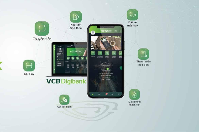 Hướng dẫn chuyển khoản Vietcombank qua điện thoại