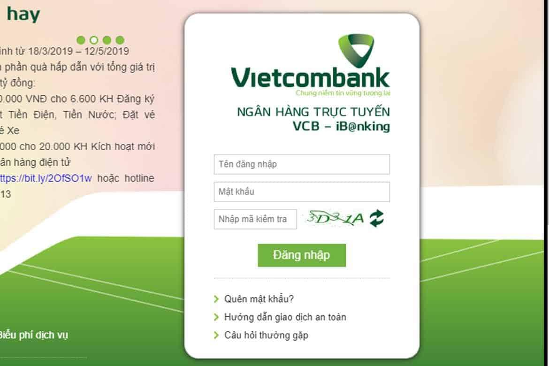 Đăng ký Internet Banking Vietcombank có mất phí không?