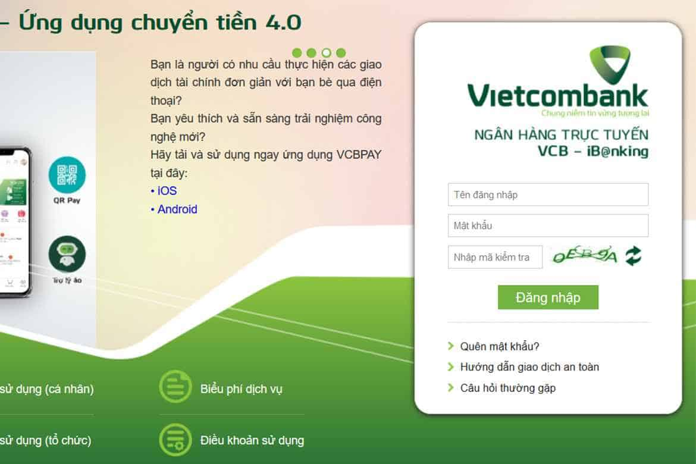 Vietcombank Internet Banking