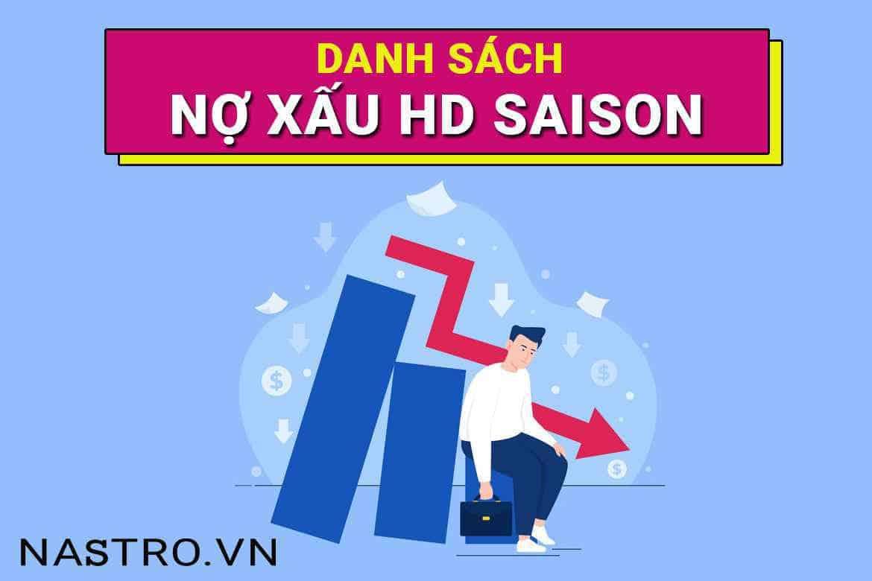 Nợ xấu ngân hàng HD Saison: Bí quyết kiểm tra, xoá được ngay!