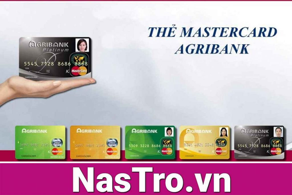 Ngân hàng Agribank phát hành bao nhiêu loại thẻ?