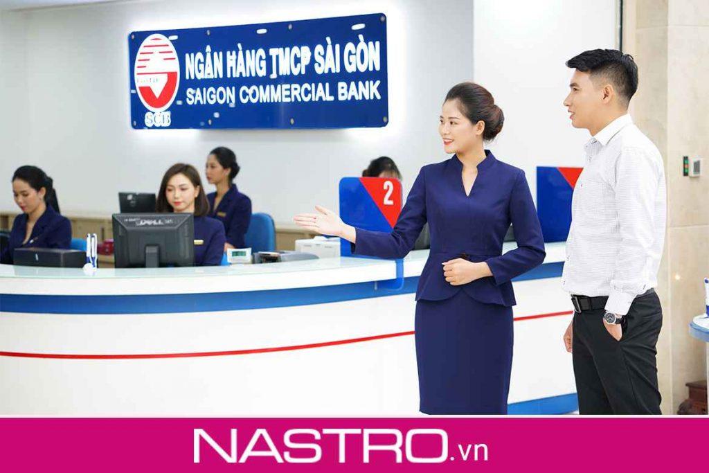SCB có phải là ngân hàng Sacombank không?