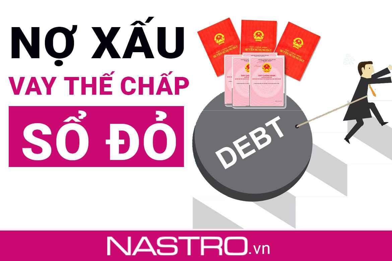 [Giải đáp] Nợ xấu có vay thế chấp sổ đỏ được không?