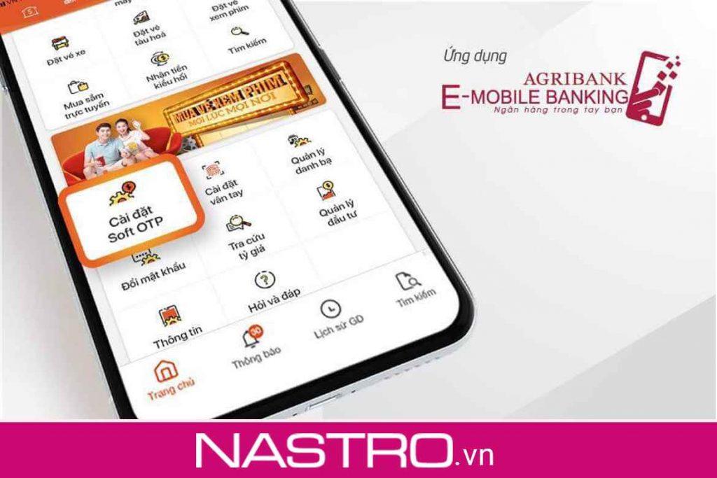 Các tính năng của Agribank e-mobile banking