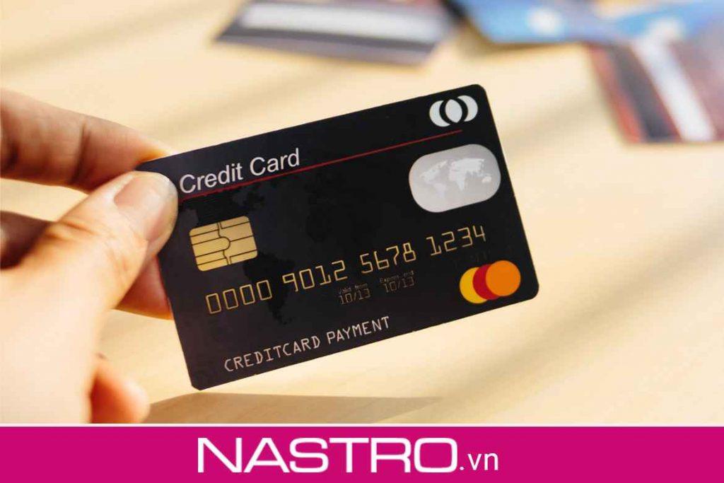 Các tính năng từ thẻ tín dụng