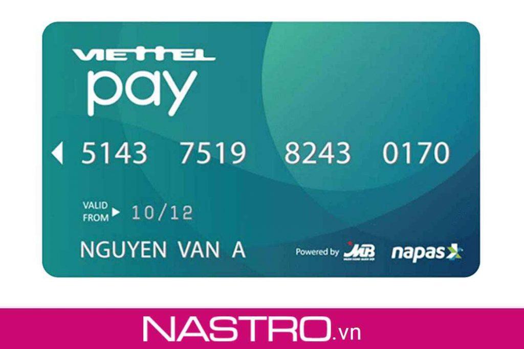 Thẻ ATM Viettelpay là gì?