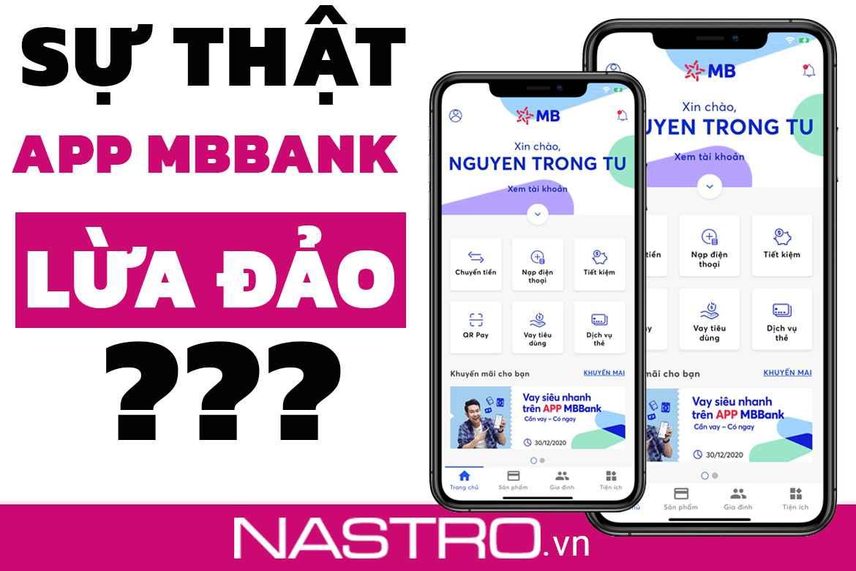 """Có nên vay tiền qua app MB Bank không? Sự thật """"Rùng mình!"""""""