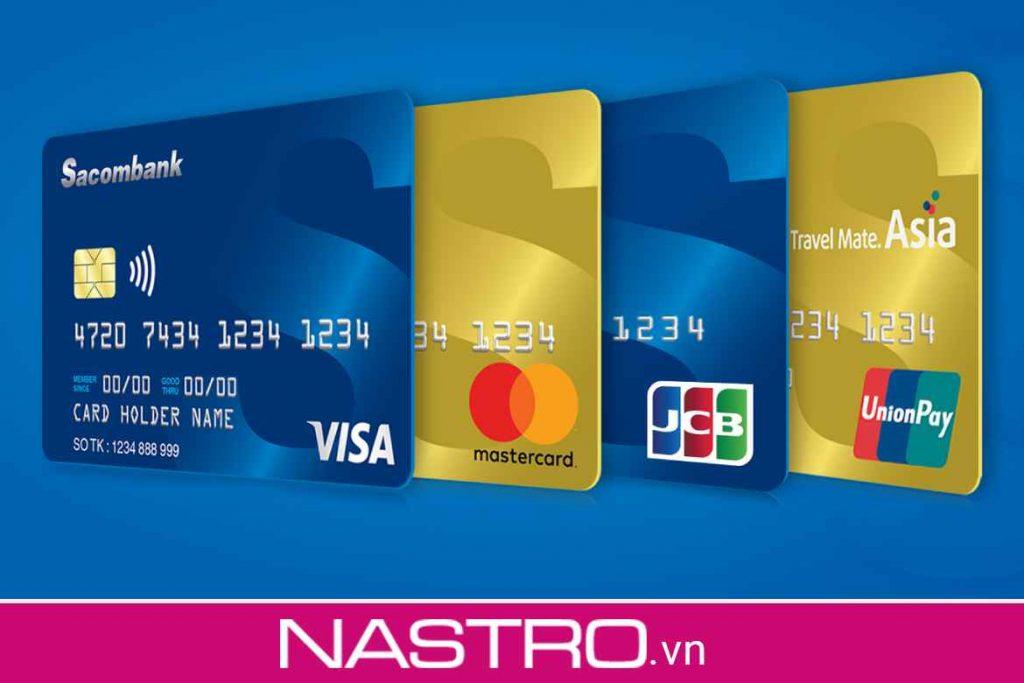 Thẻ Ngân hàng Sacombank