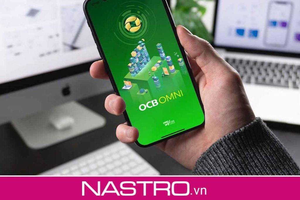 Đăng ký bằng app OCB OMNI