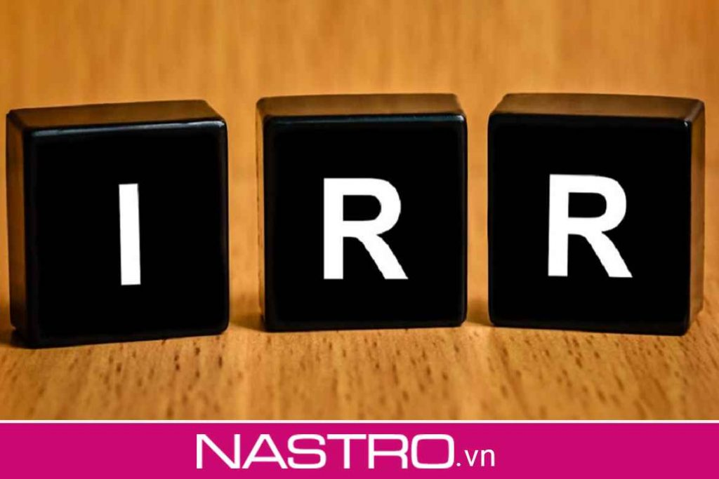 Ý nghĩa của chỉ số IRR